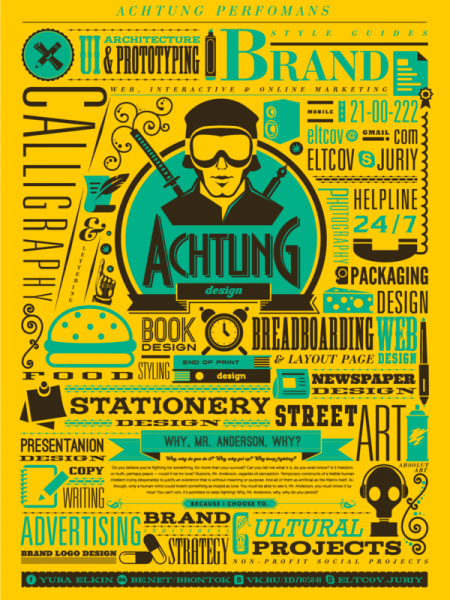 Achtung Design 3 Infographic