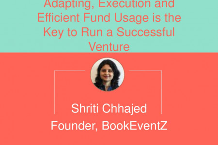 Adapting, Execution and Efficient Fund Usage is the Key to Running a Successful Venture | BookEventZ.com Infographic