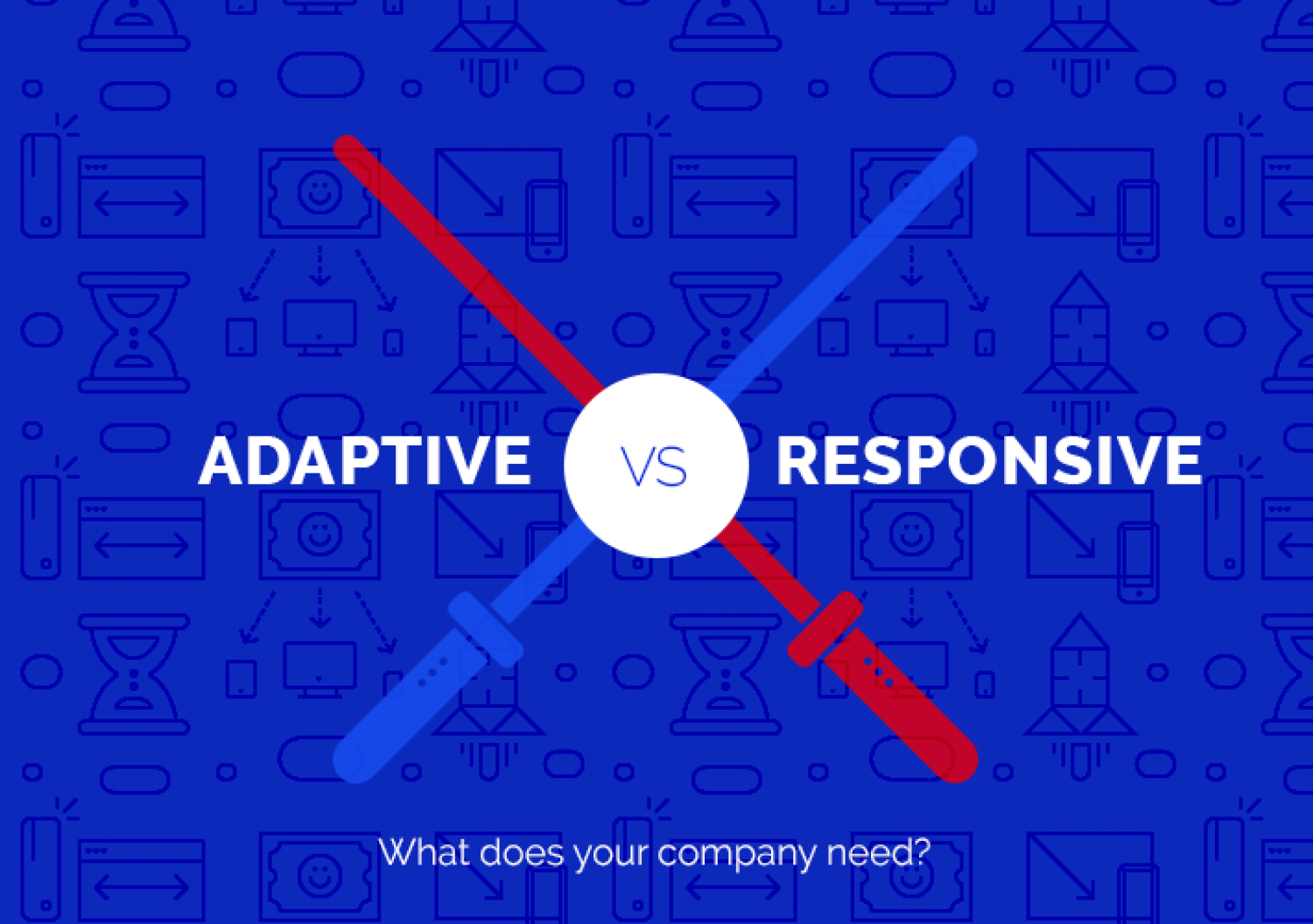 Adaptive vs. Responsive Infographic