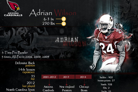 Adrian Wilson Expected To Retire Infographic