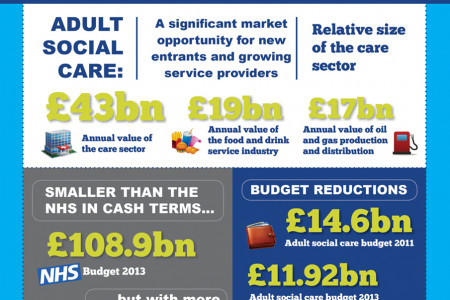 Adult Social Care Market Opportunity Infographic