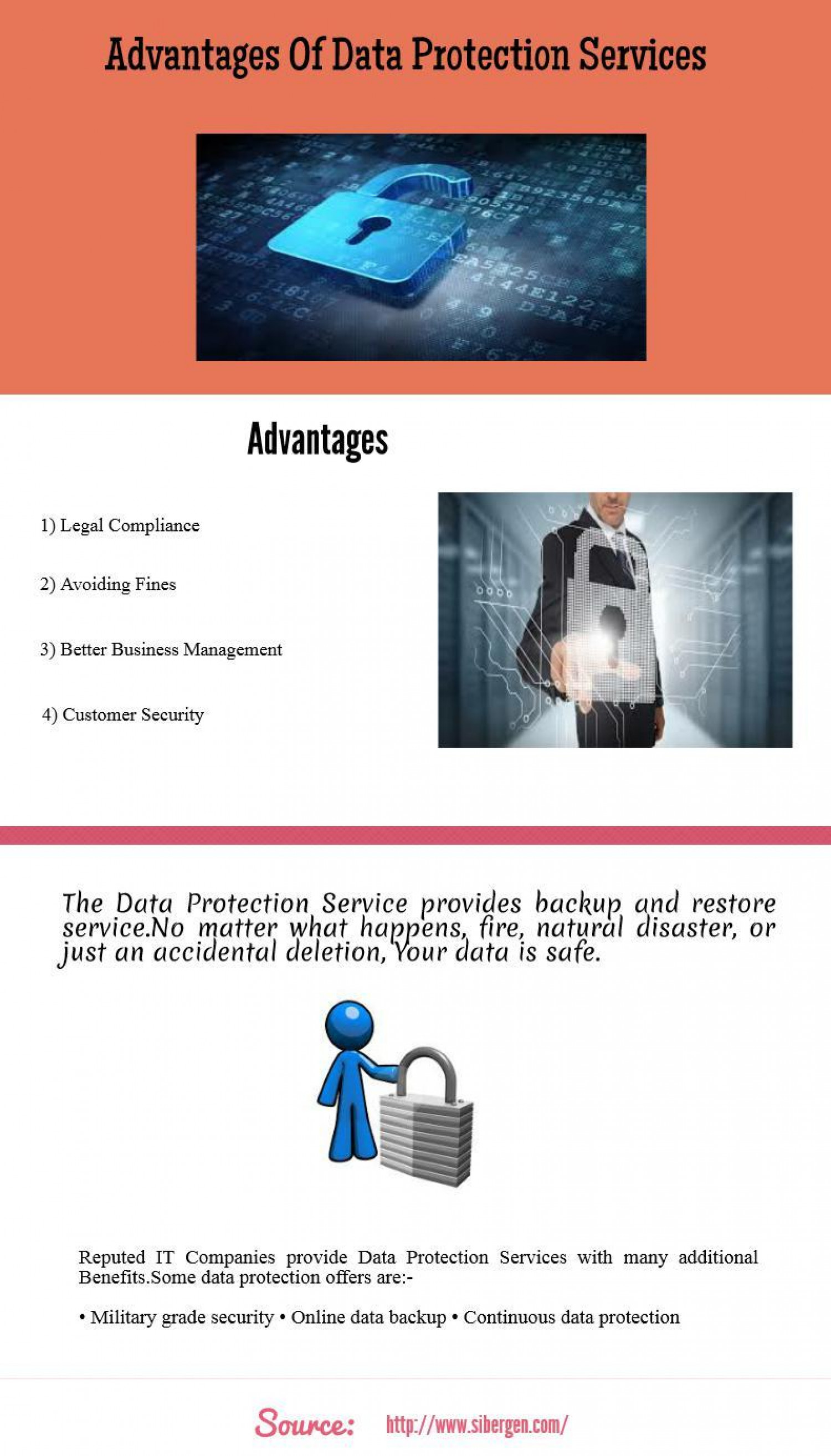 Advantages of Data Protection Services
