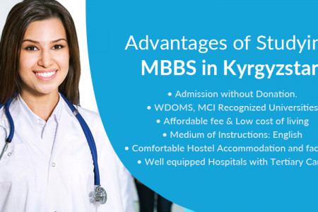 Advantages Of MBBS In Kyrgyzstan Infographic