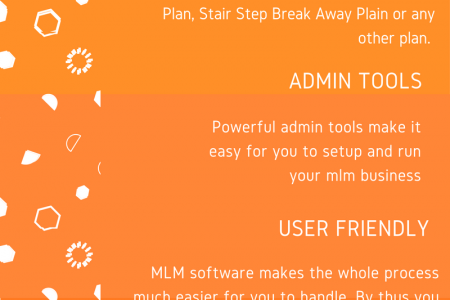 Advantages of MLM Software Infographic