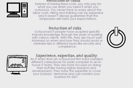 Advantages of Outsourcing IT Services Infographic