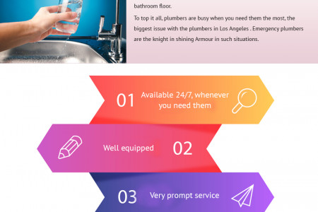 Advantages of Taking Emergency 24/7 Plumbing Services Infographic