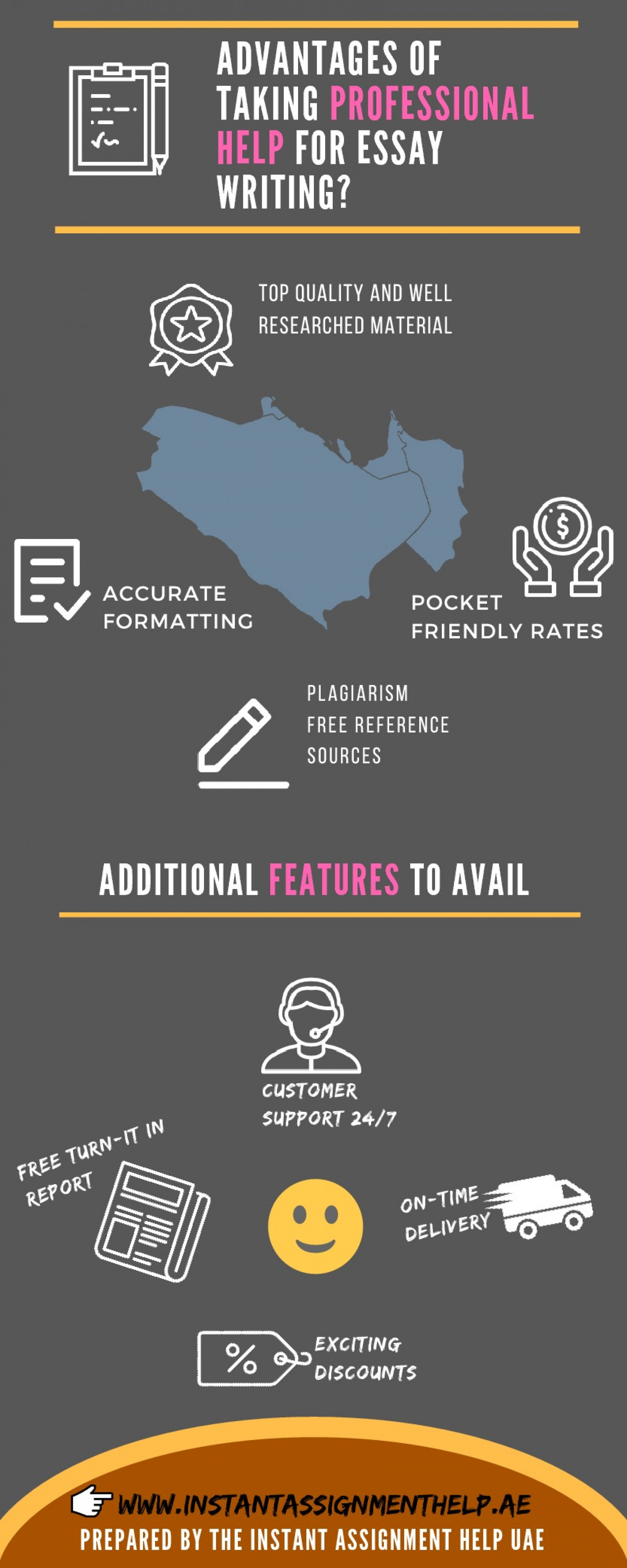 Advantages Of Taking Professional Help For Essay Writing? Infographic