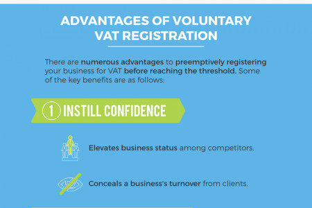 Advantages of Voluntary VAT Registration Infographic