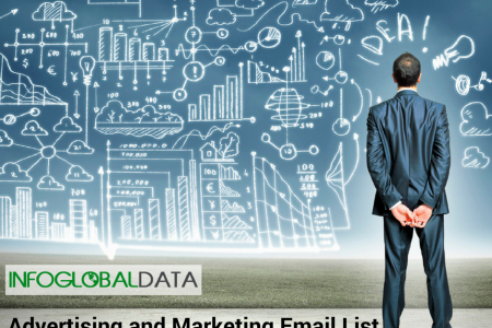 Advertising and Marketing Email List Infographic