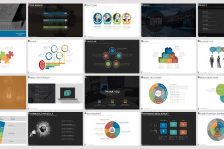 Advertising Media Planning And Strategy Powerpoint Presentation Slides Infographic