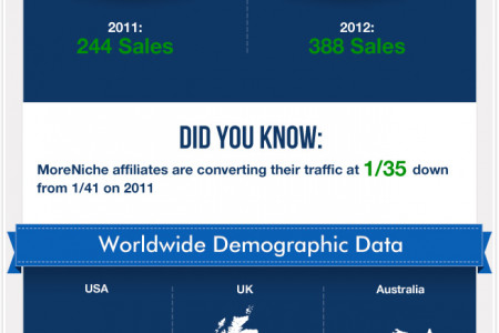 Affiliate Sales Comparison In A Post Panda And Penguin World Infographic