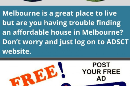 Affordable house in Melbourne Infographic
