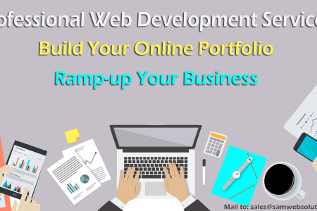 Affordable web development services provider Infographic