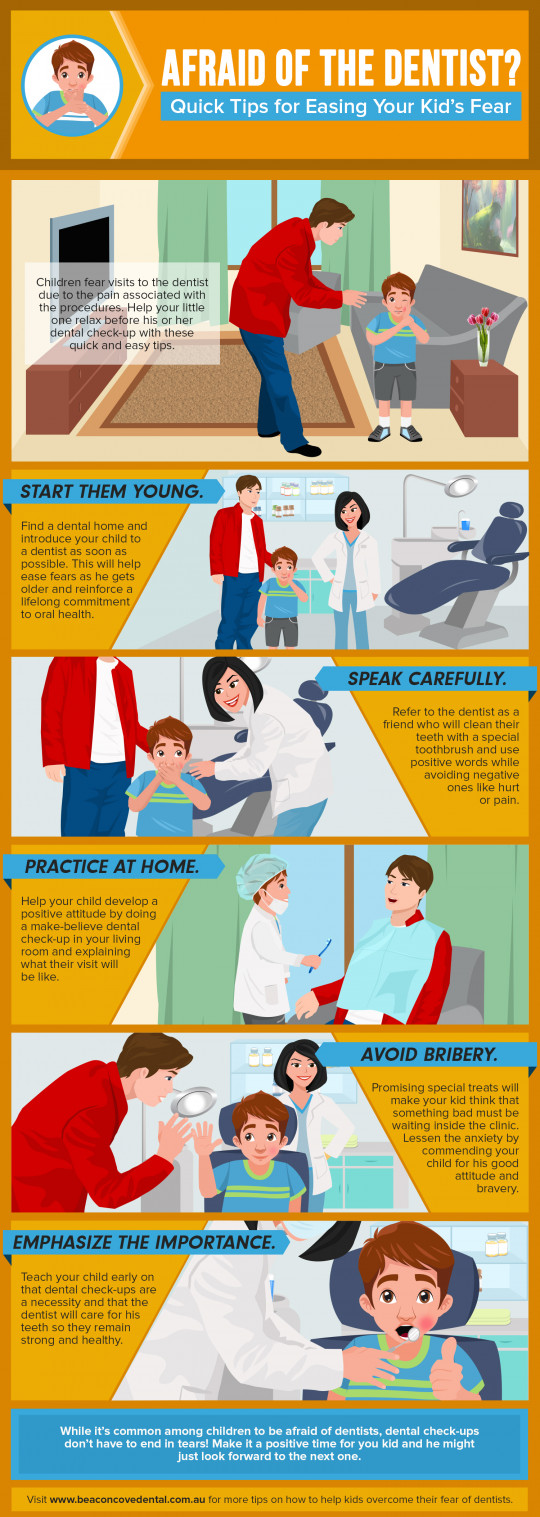 Afraid of the Dentist? Quick Tips for Easing Your Kid