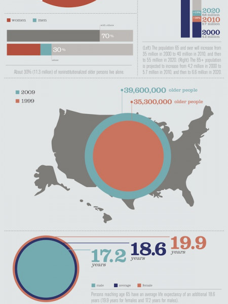 Aging Americans Infographic