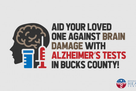 Aid Your Loved One against Brain Damage with Alzheimer's tests in Bucks County Infographic