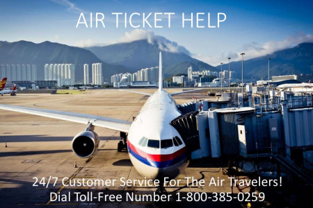 Air Ticket Help - Best way to Book your Air Ticket Online Infographic