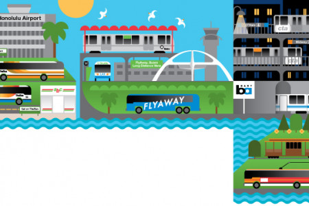 Airport Public Transportation  Infographic