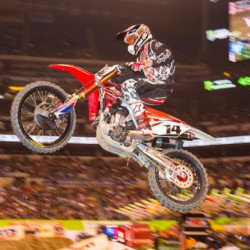 Al lamb 39 s dallas honda indianapolis round 11 supercross for Al lamb honda