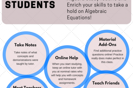 Algebra Trouble? Here are the Tips! Infographic