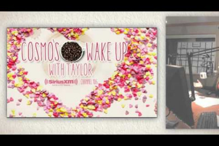 Aligned Signs on Cosmo's Wake Up with Taylor Infographic