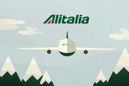 Alitalia - Excellence at the controls Infographic