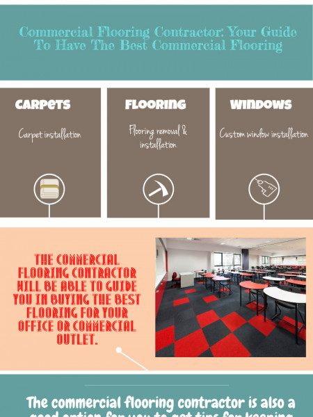 All About Commercial Flooring And Window Installers Infographic