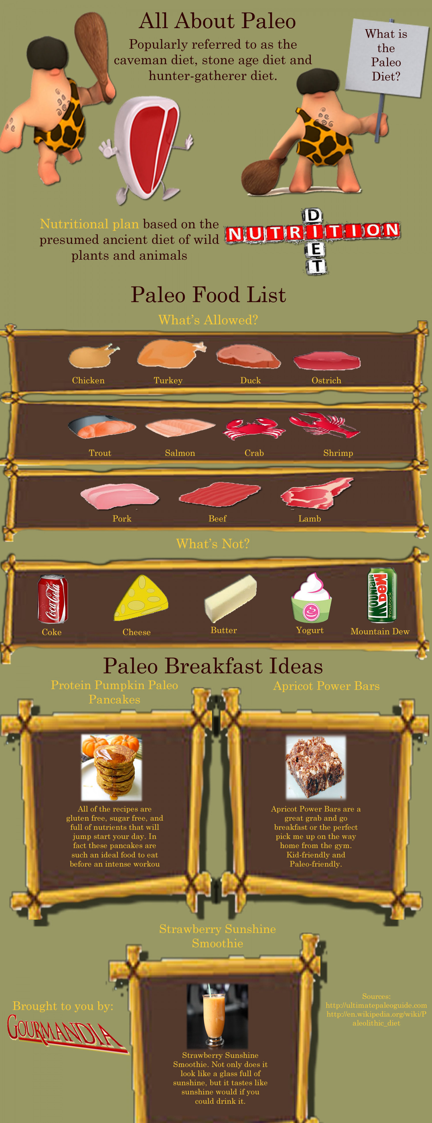 All About Paleo Infographic