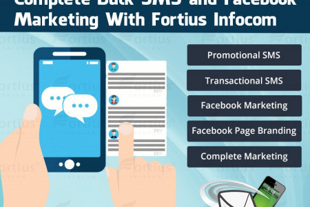 All Business Promotion Services with Fortius Infocom Infographic