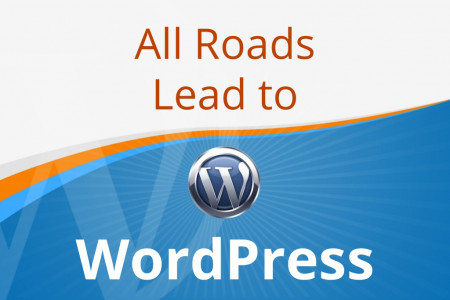 All Roads Lead to WordPress Infographic