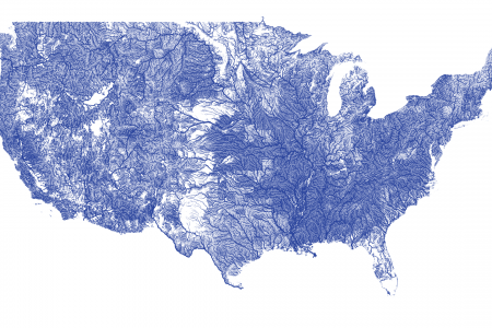 All US Rivers Infographic