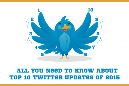 All You Need to Know About Top 10 Twitter Updates of 2015 Infographic