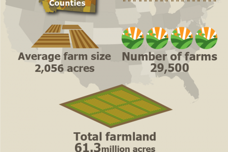 All You Need To Know About U.S Farm and Ranches Infographic