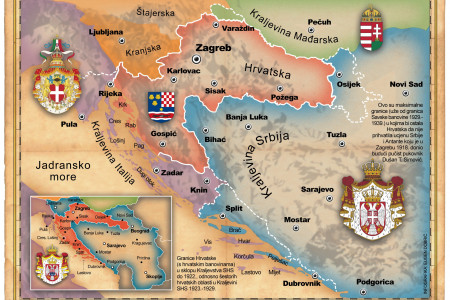 Alternate history of Croatia Infographic