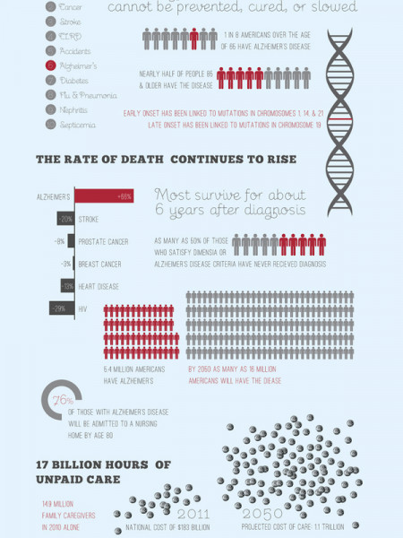 Alzheimers Epidemic  Infographic