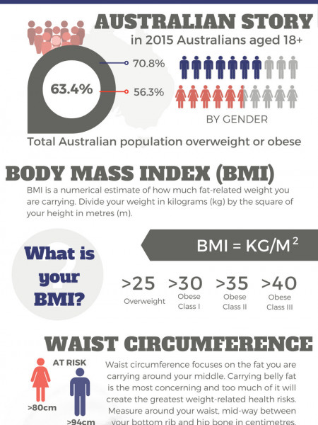 AM I FAT? Infographic