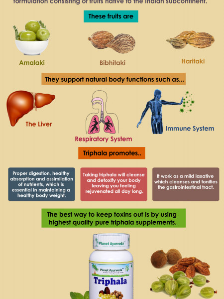 Amazing Benefits Of  Triphala To Try Right Now Infographic