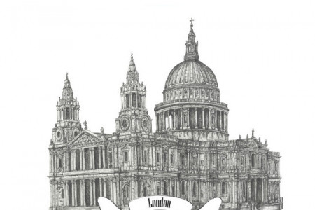 Amazing Facts About St. Paul's Cathedral in London Infographic