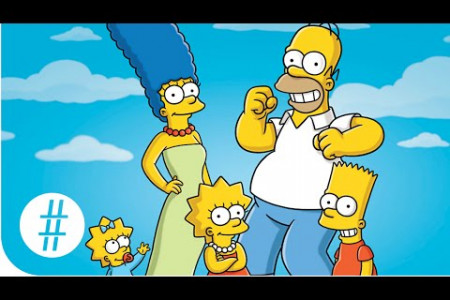Amazing Facts About The Simpsons Infographic