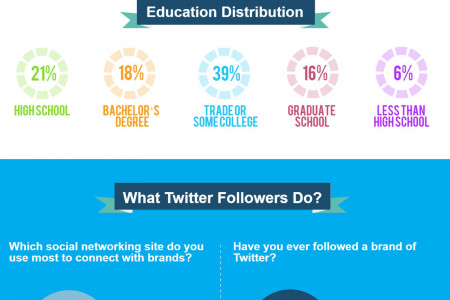 Amazing Twitter Facts You Didn't Know Infographic