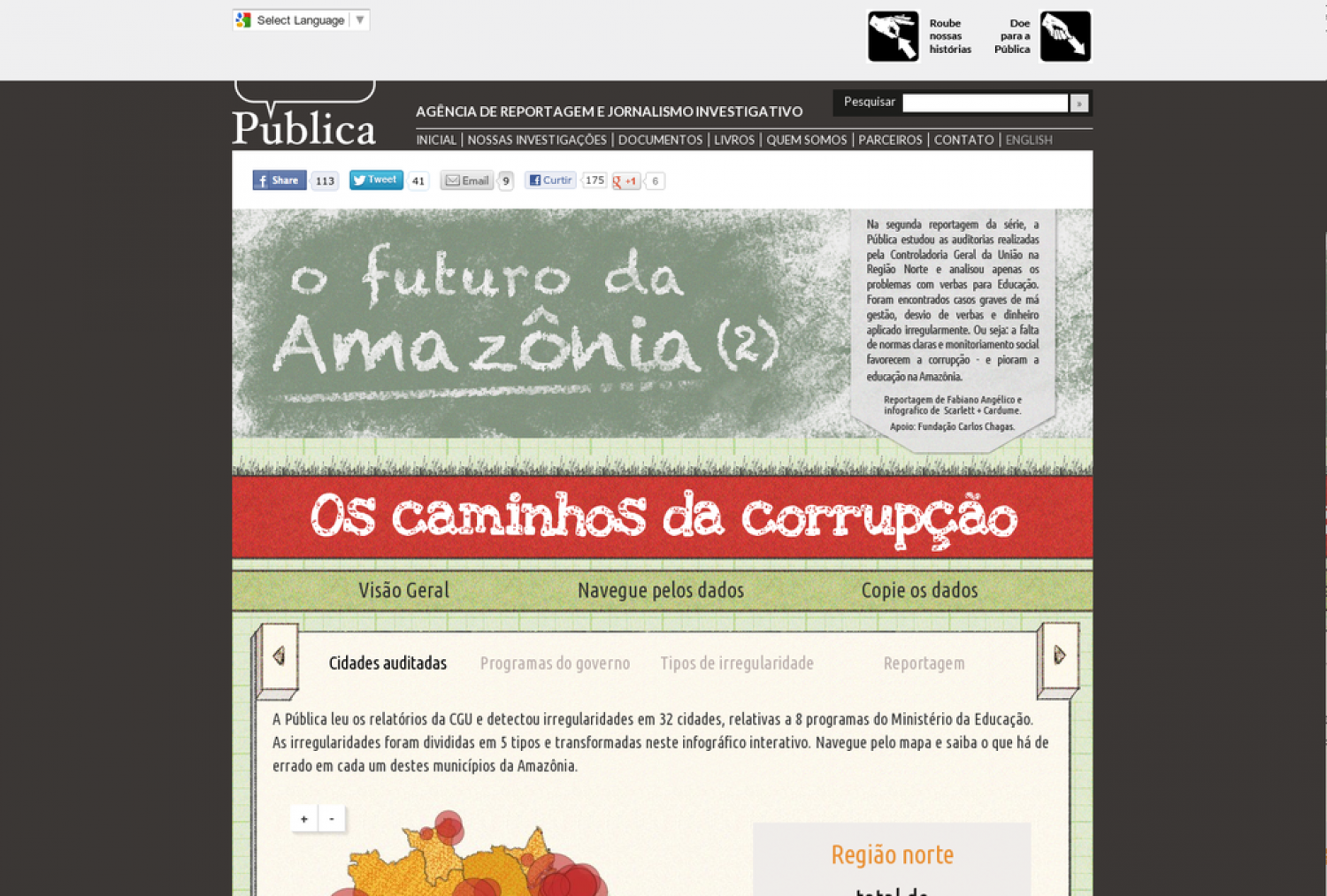 Amazônia Legal 2/3 Infographic