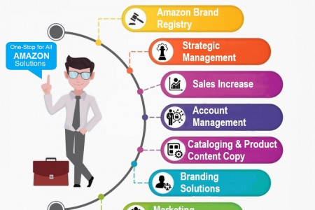 Amazon Consultancy Services - Solution Of Every Amazon Problem Infographic