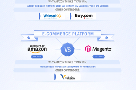 Amazon vs The World Infographic