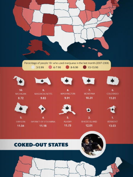 America in Addiction Infographic