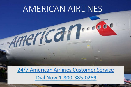 American Airlines Booking Helpline - 1-800-385-0259 Infographic