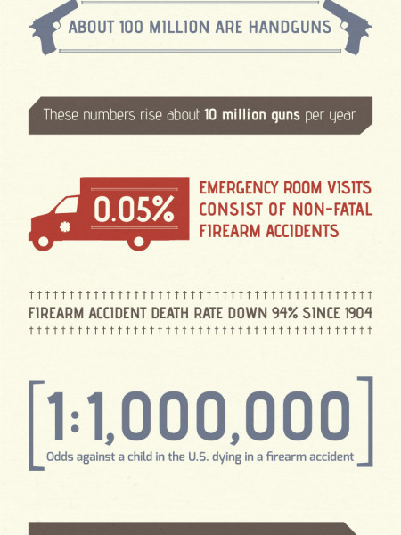 Firearms In America Infographic
