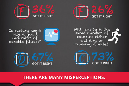 Americans Are Flunking Fitness Class  Infographic