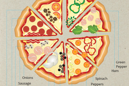 America's Favorite Pizza Toppings Infographic
