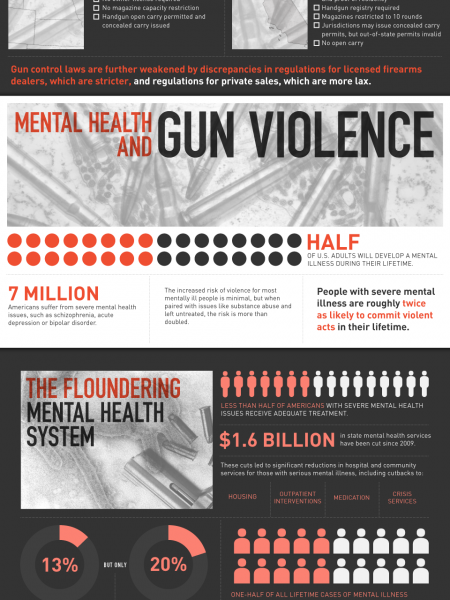 America's Gun Violence Epidemic Infographic