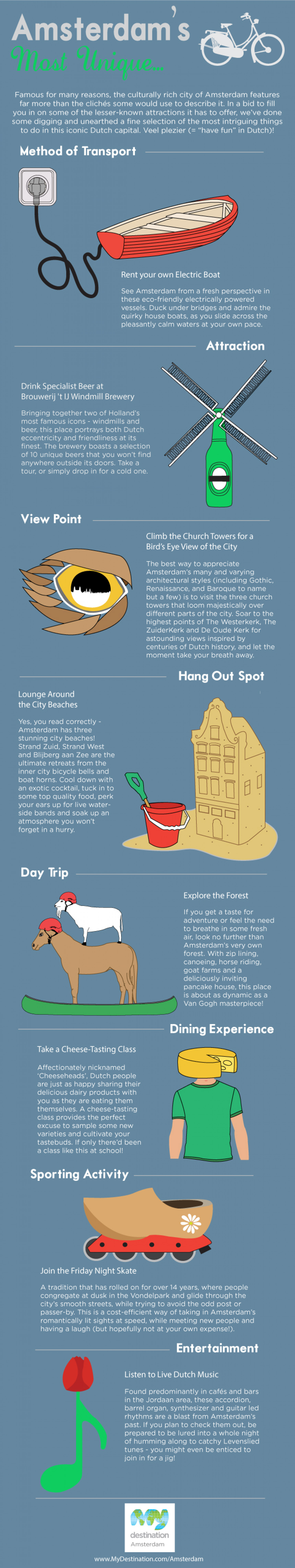 Amsterdam's Most Unique... Infographic